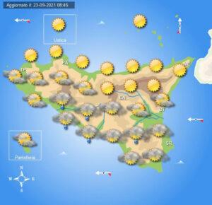 Meteo Sicilia di venerdì 24 settembre