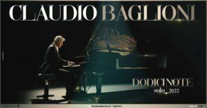 Claudio Baglioni torna dal vivo, 50 date nei teatri lirici: a marzo in Sicilia