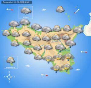 Meteo Sicilia di sabato 23 e domenica 24 ottobre