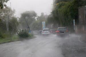 Maltempo e traffico a Catania, emergenza in molte zone